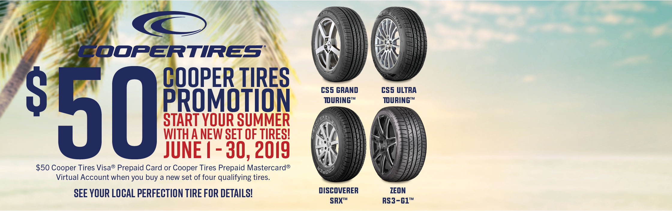 Cooper Tires Promotion